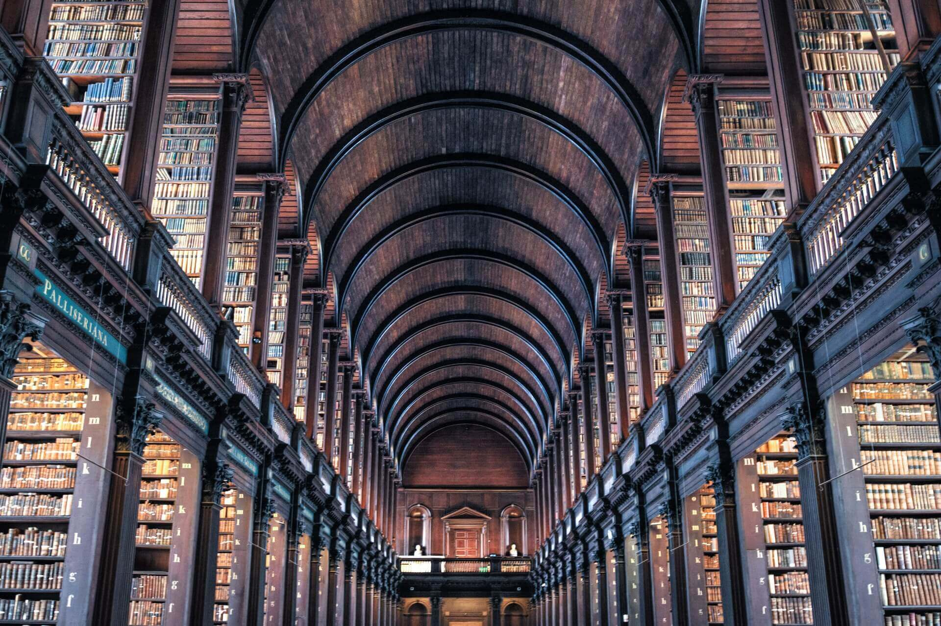 Trinity College Old Library, Dublin| FlyCheapAlways