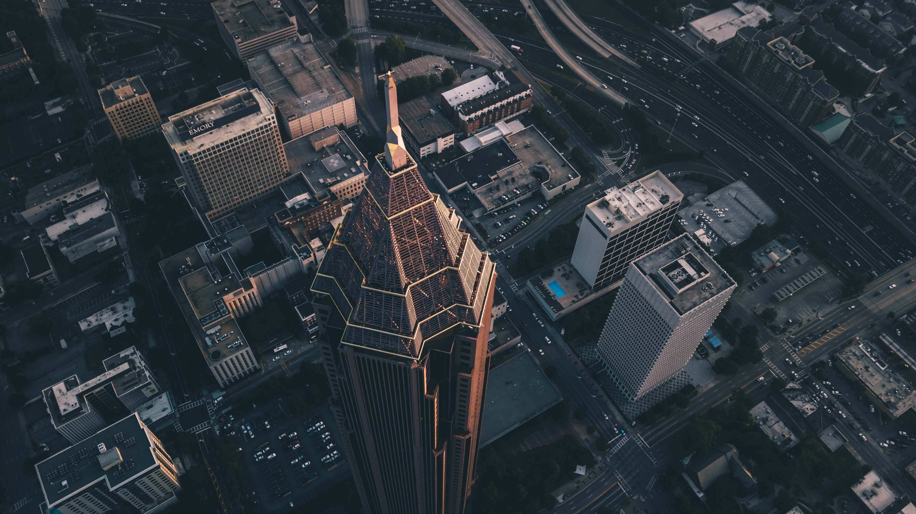 Atlanta Aerial View | FlyCheapAlways